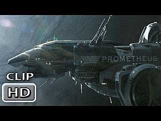 "Prometheus Movie Clip ""The Landing """