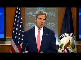 Secretary Kerry Comments on Syria