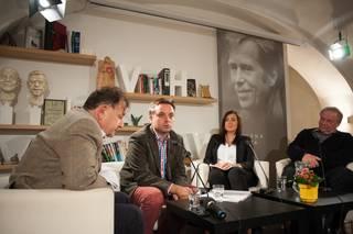Debata 'Česko - Pojďme volit!' v Knihovně Václava Havla