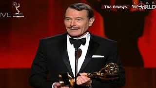 Emmy Awards 2014 : Bryan Cranston Wins Lead Actor Drama Series (66th EMMY AWARDS) (8/25/14)
