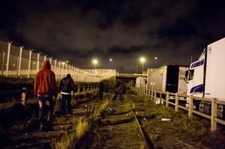 Calais, srpen 2015