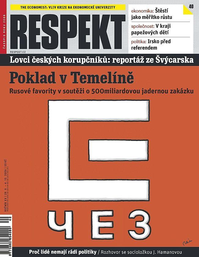 32eedb82c Poklad v Temelíně • RESPEKT 40/2009 • RESPEKT