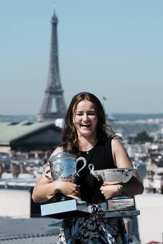 Pařížský úspěch Barbory Krejčíkové ještě na legendy nestačí