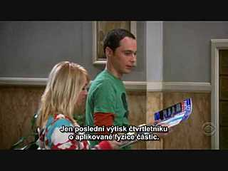 Sheldon and Penny best scene (czech sub.)
