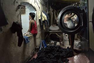 Indická prádelna 1