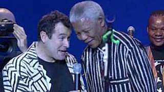 Johnny Clegg a Nelson Mandela, 1999