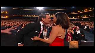 Must see: Bryan Cranston and Julia Louis-Dreyfus French Kiss at the Emmys