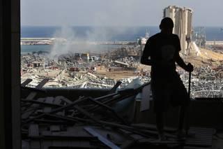Bejrút: Obří výbuch v přístavu způsobil zkázu srovnatelnou se zemětřesením