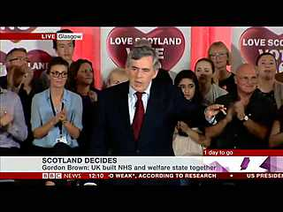 Gordon Brown's Better Together speech the day before the Scottish referendum