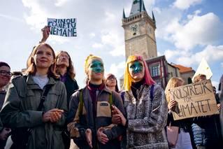 Stávka za klima, Praha