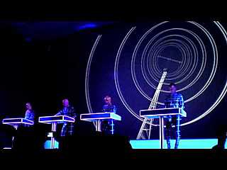 Radioactivity - Kraftwerk 1 2 3 4 5 6 7 8 Retrospective #1 Autobahn at the MOMA NYC
