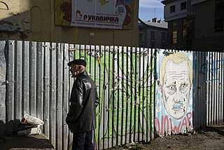 Lvov Ukrajina listopad 2014