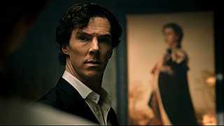 Benedict Cumberbatch jako Sherlock Holmes