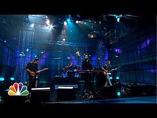 "The Boxer Rebellion ""Diamonds"" - The Tonight Show with Jay Leno"