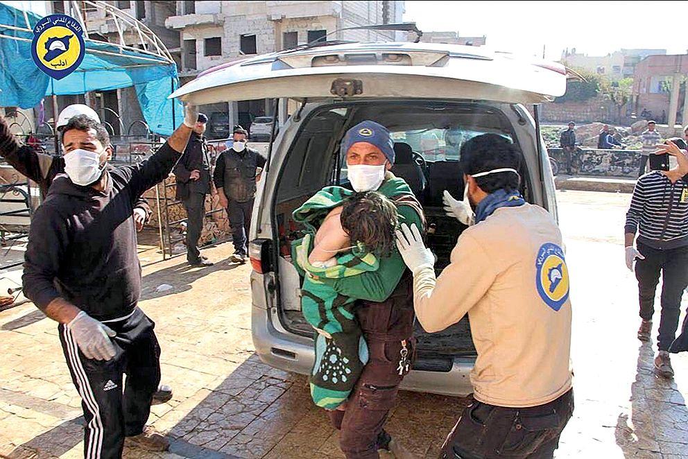 Nová studie: 98procent chemických útoků má na svědomí Asadův režim