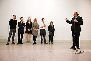 Snímky z výstavy finalistů Ceny Jindřicha Chalupeckého