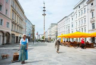 Wels, sedmé největší město Rakouska.