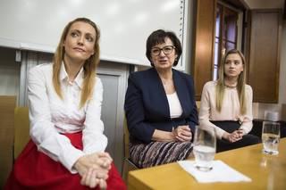 Eva Drahošová v Pardubickém kraji. 18.1.2018 Pardubice