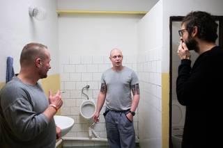 Petr Horký, věznice Vinařice, prosinec 2018