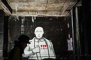 Nánosy historie pod Stalinovým pomníkem