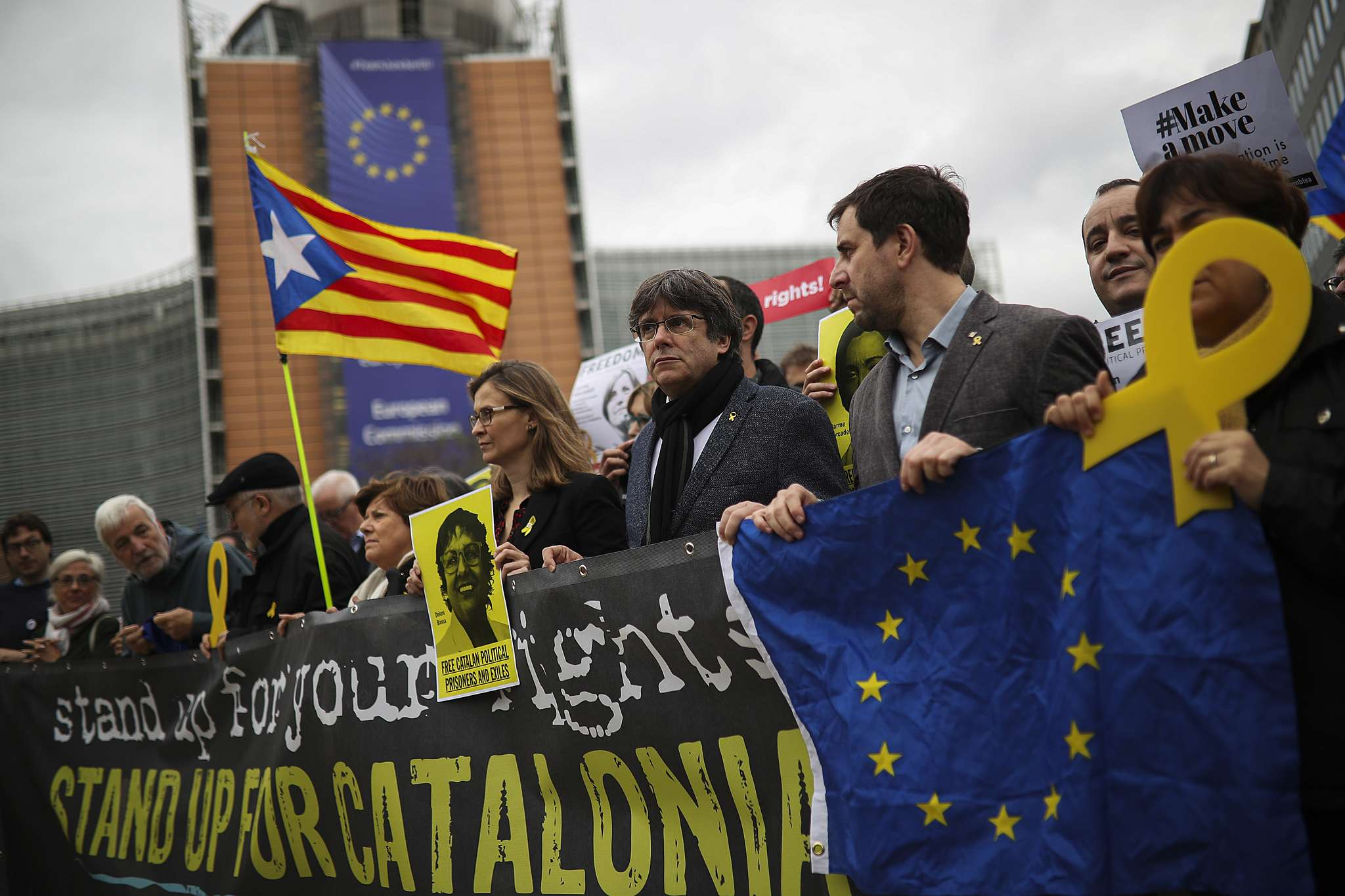 Bývalý katalánský prezident Carles Puigdemont