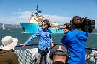 Náš systém konečně zachytává plasty v oceánu, hlásí vynálezce Boyan Slat