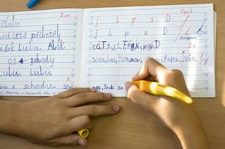 deti v 1. a 2. tride ZS se uci psat, revnice, 29.9.2012