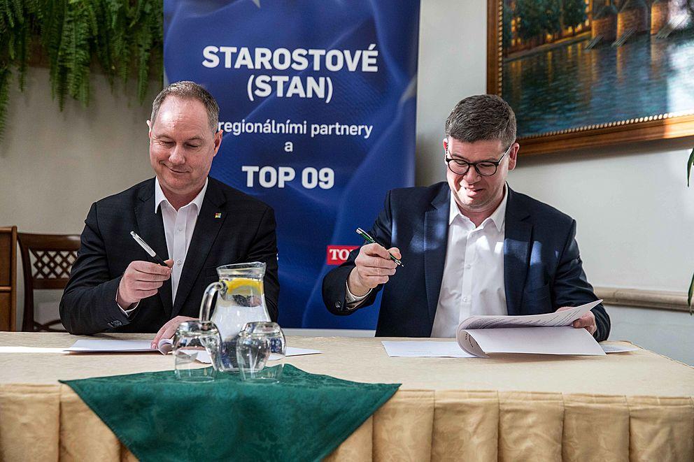 Kandidáti pod vedením TOP 09do eurovoleb